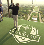 OnlineGolf News: 2018 Ryder Cup Captains recreate history at the Eiffel Tower