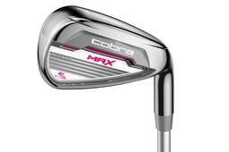 Cobra Golf Ladies MAX Irons Graphite 5-SW