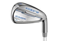 Cobra Golf Ladies King F6 Silver Graphite Irons