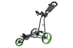 Big Max TI1000 Autofold Plus 3 Wheel Push Trolley