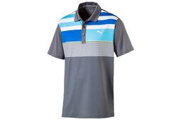 PUMA Golf Road Map Asym Polo Shirt