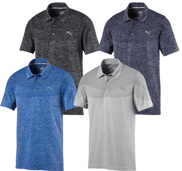 PUMA Golf EVOKNIT Seamless Polo Shirt