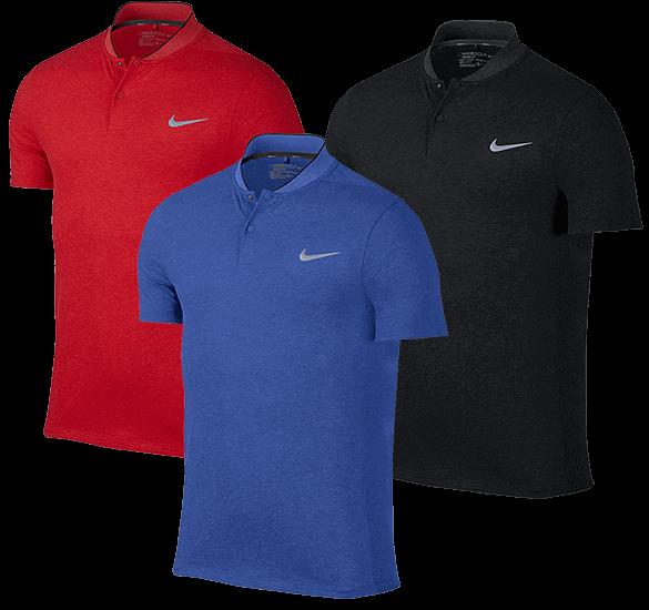 Nike Golf Momentum Fly Dri-Fit Wool Polo Shirt