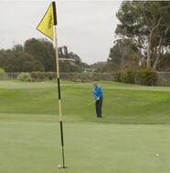 Callaway U.S. Open Golf Tips   Chip From a Buried Lie -Video