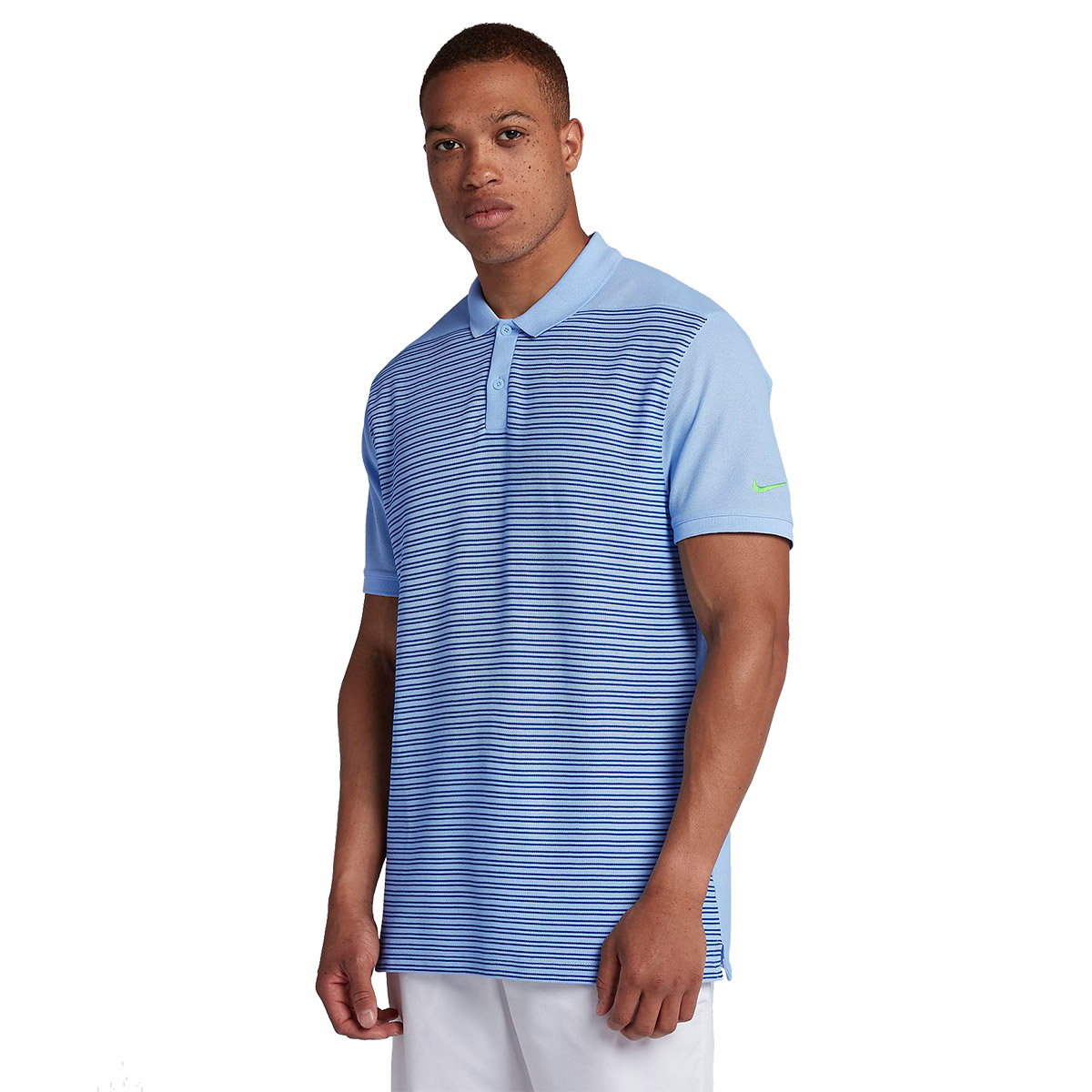 d72be1387fba Nike Golf Classic Stripe Pique Polo Shirt