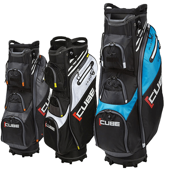 Cube 14-Way Cart Bag