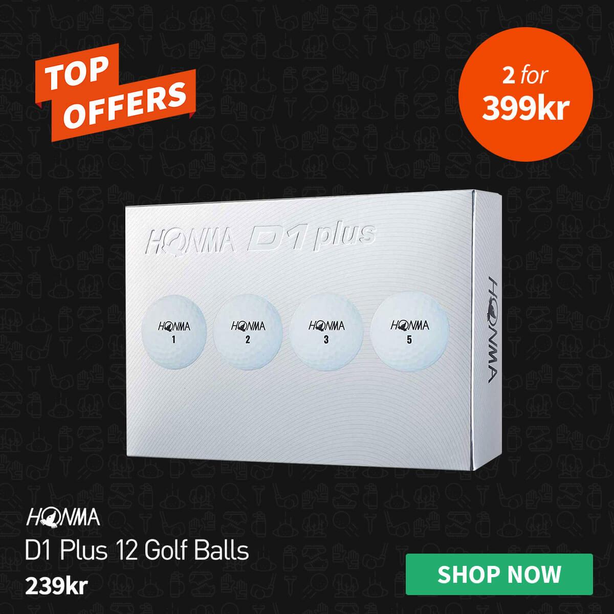 TOP OFFERS - HONMA D1 BALLS