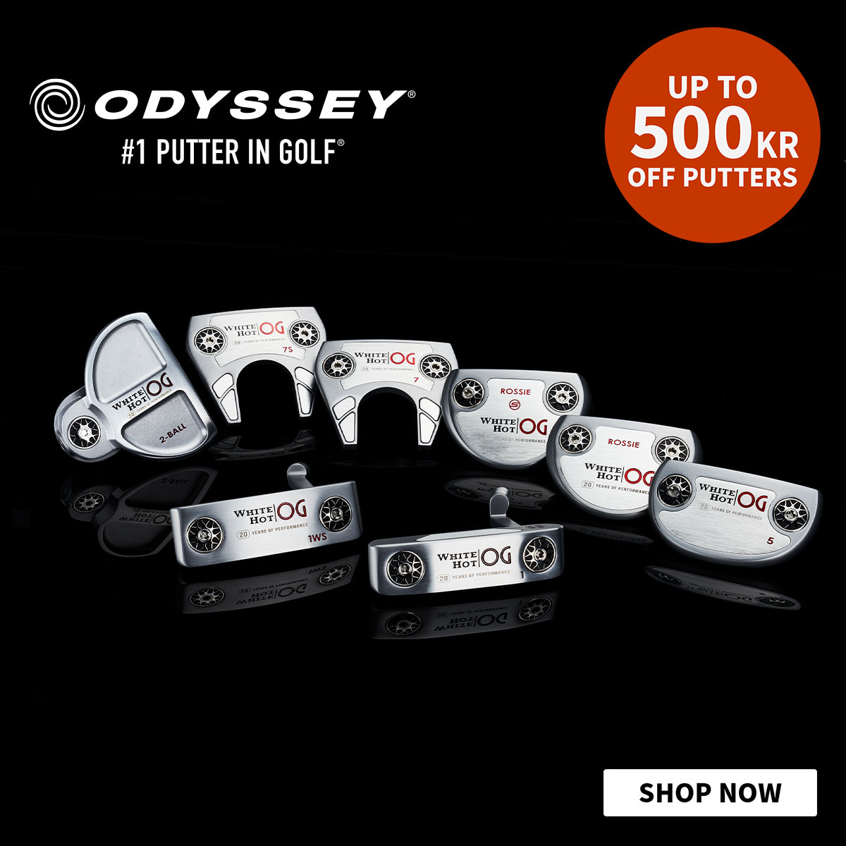 Odyssey White Hot Putters