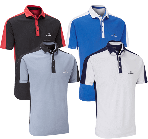 Stuburt Moisture Wicking Polo Shirt